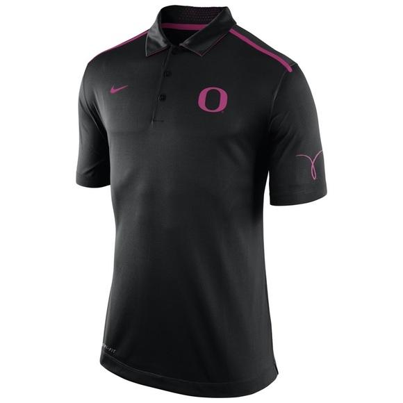 Nike • Oregon Ducks Breast Cancer Polo